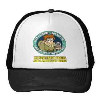 Gorra de la entrega de la comida gastrónoma de Igo