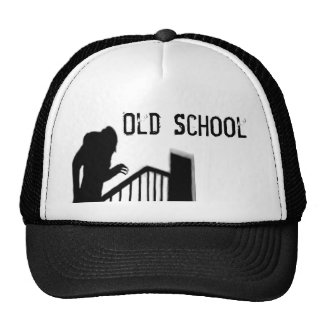 Gorra de la escuela vieja de la silueta de Nosfera