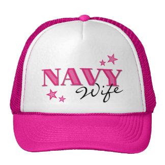 Gorra de la esposa w/Stars de la marina de guerra