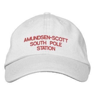 Gorra de la estación de Amundsen-Scott South Pole Gorra De Béisbol Bordada