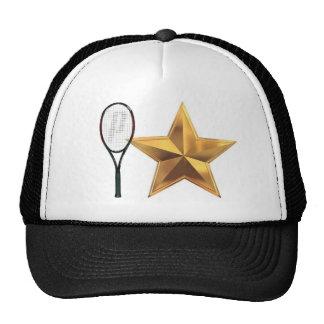 Gorra de la estrella de tenis estafa