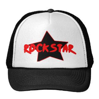 Gorra de la estrella del rock