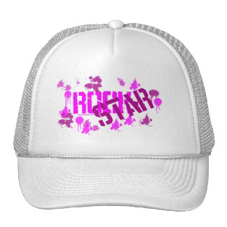 Gorra de la estrella del rock, gorra de la malla