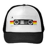 Gorra de la etiqueta de la cinta de casete