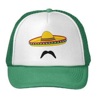 Gorra de la fiesta de Cinco de Mayo del bigote y d