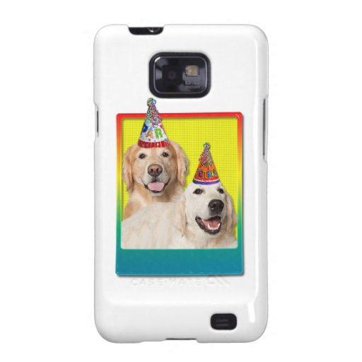Gorra de la fiesta de cumpleaños - corona de Tebow Galaxy S2 Funda