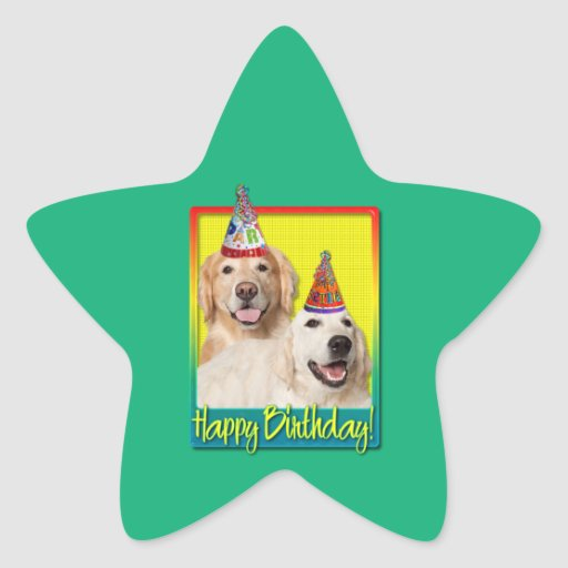 Gorra de la fiesta de cumpleaños - corona de Tebow Colcomanias Forma De Estrellaes Personalizadas