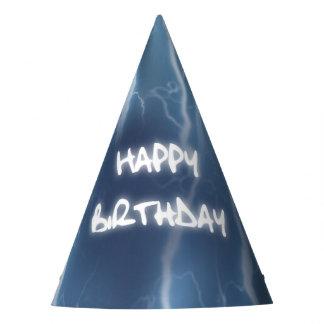 Gorra de la fiesta de cumpleaños del rayo del gorro de fiesta