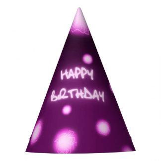 Gorra de la fiesta de cumpleaños del superhéroe gorro de fiesta