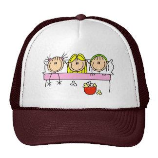 Gorra de la fiesta de pijamas del chica