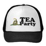 Gorra de la fiesta del té