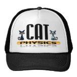 Gorra de la física del gato