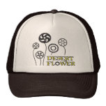 Gorra de la flor de Dezert