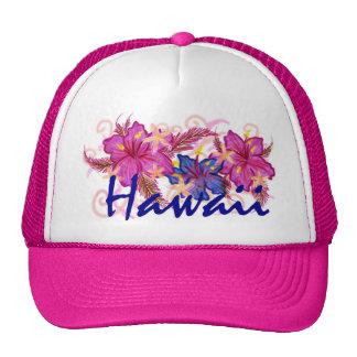 Gorra de la flor de Hawaii