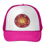 Gorra de la flor del mosaico
