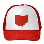 Gorra de la forma del estado de Ohio