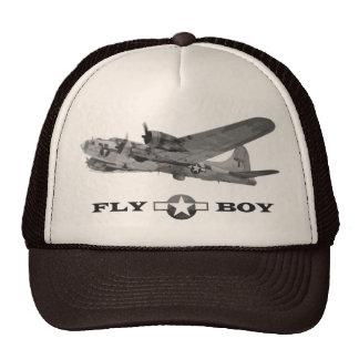 Gorra de la fortaleza del muchacho y del vuelo de
