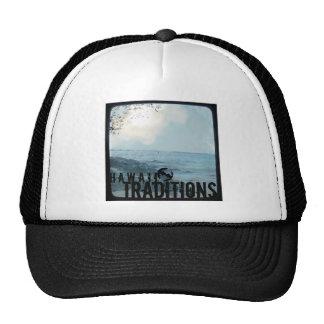 Gorra de la foto de la playa del vintage de las tr