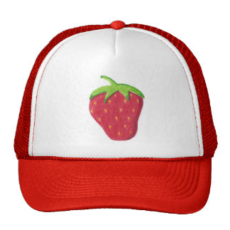 Gorra de la fresa