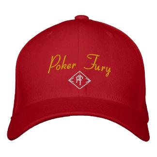 Gorra de la furia del póker gorra de béisbol