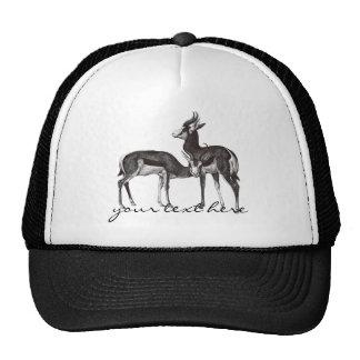 Gorra de la gacela del vintage