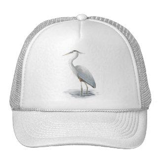 Gorra de la garza de gran azul