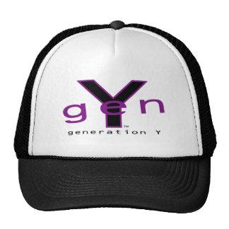 Gorra de la generación Y Black&Purple