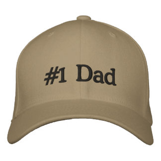 Gorra de la gorra de béisbol del papá #1