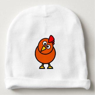 Gorra de la gorrita tejida del bebé de la gallina gorrito para bebe