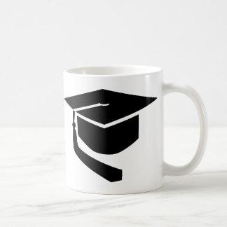Gorra de la graduación tazas