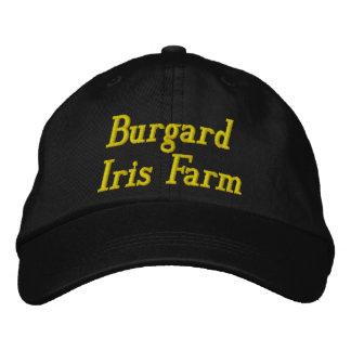 Gorra de la granja del iris de Burgard Gorra De Béisbol Bordada