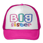gorra de la hermana grande del efecto 3D