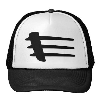 Gorra de la hilada del lado del tiroteo de