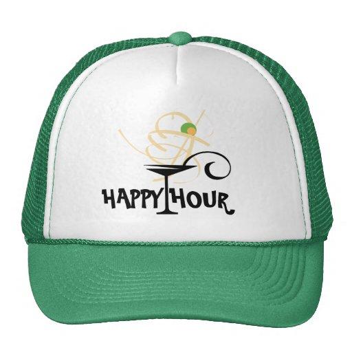 Gorra de la hora feliz de Martini