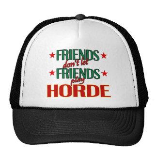 Gorra de la horda de los amigos