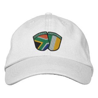 Gorra de la insignia de la bandera de la amistad gorros bordados
