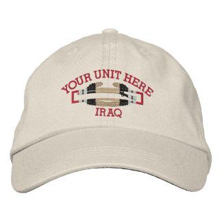 Gorra de la insignia del soldado de infantería del gorra bordada