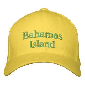 Gorra de la isla de Bahamas Gorras De Béisbol Bordadas