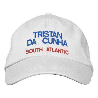 Gorra de la isla de Tristan DA Cunha* Gorras Bordadas