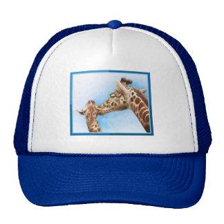 Gorra de la jirafa y del becerro