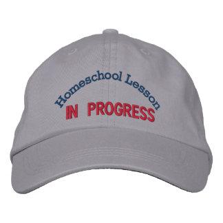 Gorra de la lección de Homeschool Gorro Bordado
