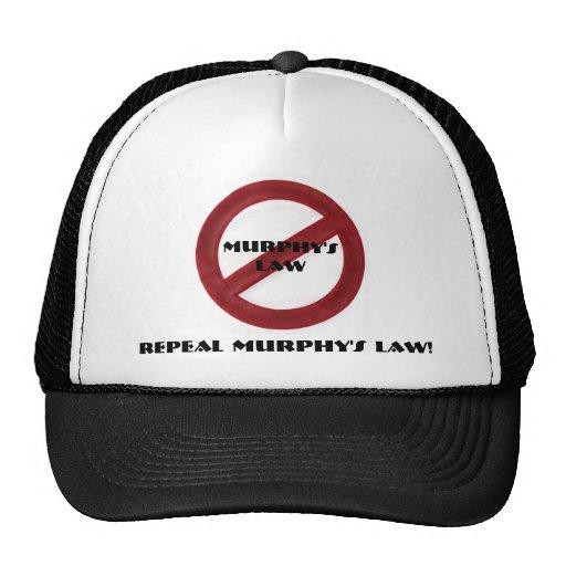 Gorra de la ley de Murphy de la derogación