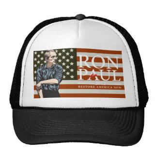 "Gorra de la libertad americana de Ron Paul ""yendo"