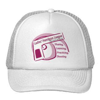 Gorra de la liga de la arma de mano de las señoras