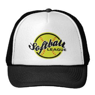 Gorra de la liga del softball
