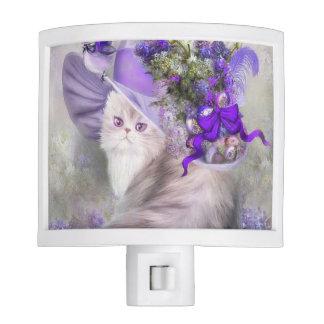 Gorra de la lila luz de noche