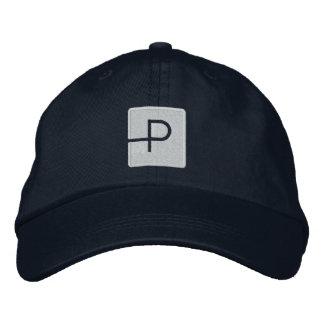 Gorra de la lista de temas (logotipo sólido) gorra de béisbol bordada
