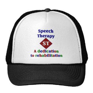 Gorra de la logopedia