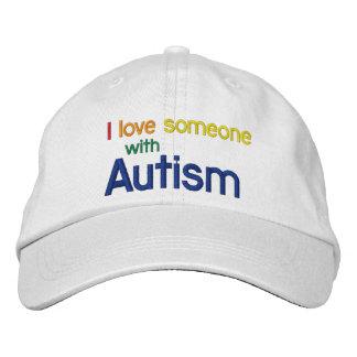 Gorra de la lona del autismo gorros bordados