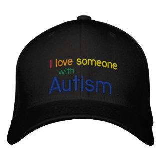 Gorra de la lona del autismo gorra de béisbol bordada